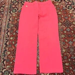 St John Sport hot pink jeans In good condition sz6